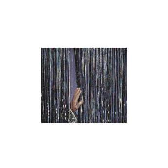 "Rosco Slit Drape - 36""x 16' - Silver/Iridescent/Gold"