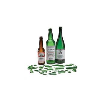 Rosco Breakaway Wine Bottle, Amber