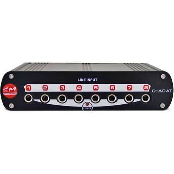 SM Pro Audio Q-ADAT 8-Channel Analog to ADAT Converter