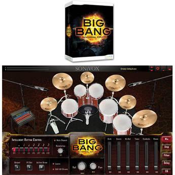 SONiVOX BIG BANG Cinematic Percussion Virtual Instrument