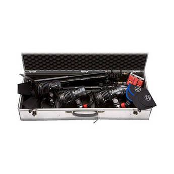 Sachtler Reporter 3-Light Kit W/Stand Mounts (110VAC)