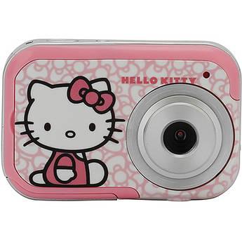 Sakar 2.1Mp Hello Kitty Digital Camera with 3 Interchangeable Faceplates