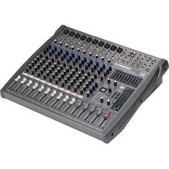 Samson L1200 12-Channel, 4-Bus Compact Live Sound Reinforcement Console
