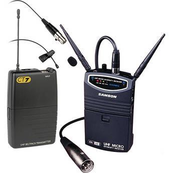 Samson UM1 Portable Wireless Lavalier Microphone System