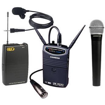 Samson UM1 Portable Handheld & Lavalier B&H Kit