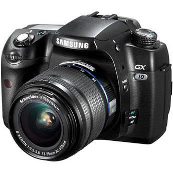 Samsung Digimax GX-10 Digital Camera with 18-55mm Lens