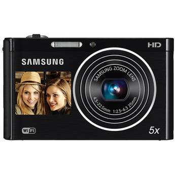 Samsung DV300F Digital DualView Camera (Black)