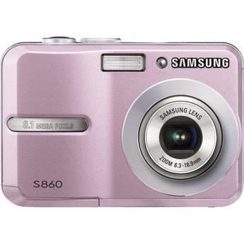 Samsung S860 Digital Camera (Pink)