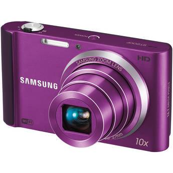 Samsung ST200F SMART Long Zoom Digital Camera (Plum)