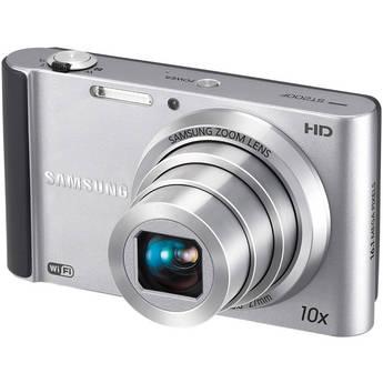 Samsung ST200F SMART Long Zoom Digital Camera (Silver)