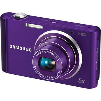 Samsung ST76 Compact Digital Camera (Purple)