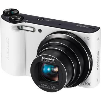 Samsung WB150F SMART Long Zoom Digital Camera (White)