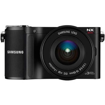 Samsung NX200 Mirrorless Digital Camera with 18-55mm Lens (Black)