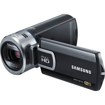 Samsung HMX-QF20 HD Flash Camcorder with Wi-Fi (Black)