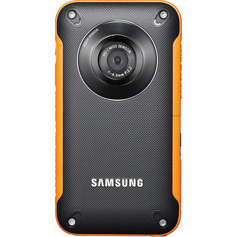 Samsung HMX-W300 Pocket Camcorder (Orange)