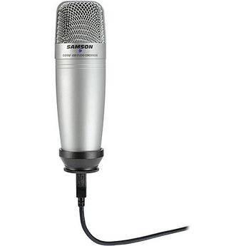 Samsung C01ucw Usb Condenser Microphone Sac01ucw B Amp H Photo