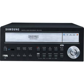 Samsung SRD-470D-1TB 4-Channel DVR with DVD R/W (1TB)