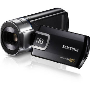 Samsung HMX-QF30 HD Camcorder (Black)