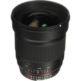 Samyang 24mm f/1.4 ED AS UMC Wide-Angle Lens for Nikon