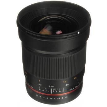 Samyang 24mm f/1.4 ED AS UMC Wide-Angle Lens for Canon