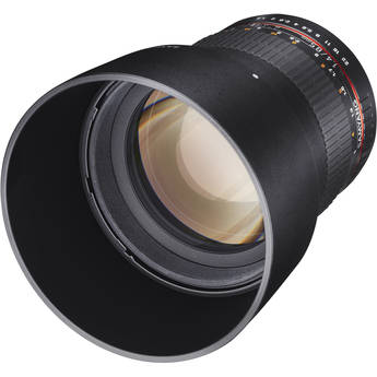 Samyang 85mm f/1.4 IF MC Aspherical Lens for Sony