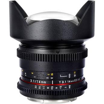 Samyang 14mm T3.1 Cine Lens for Canon EF-Mount