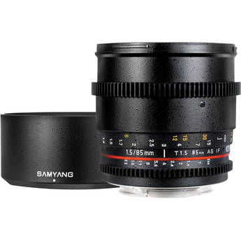 Samyang 85mm T1.5 Cine Lens for Nikon F