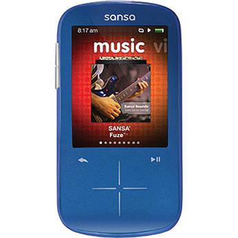 SanDisk 4GB Sansa Fuze+ MP3 Player Blue