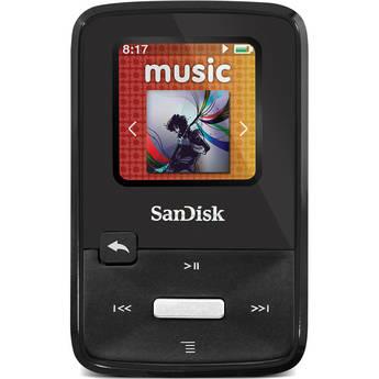 SanDisk Sansa Clip Zip MP3 Player (4GB, Black)