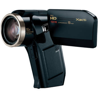 Sanyo VPC-HD2000 Xacti Dual Camera (Black)