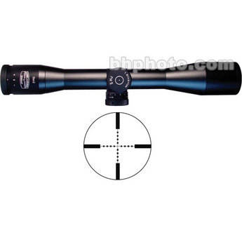 Schmidt & Bender 10x42 Police Marksman II  Riflescope with P3 Mil-Dot Reticle