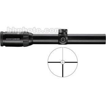 Schmidt & Bender 1.1-4x24 Zenith Riflescope with #9 Reticle