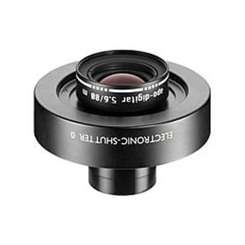 Schneider 80mm f/5.6 Apo Digitar M Lens w/ Schneider Electronic Shutter