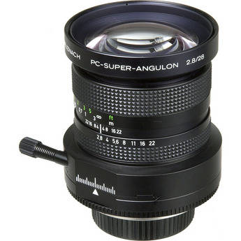 Schneider 28mm f/2.8 PC Super-Angulon Manual Focus Lens for Nikon