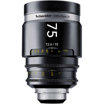 Schneider 1072029 CINE-XENAR III Lens (75mm, PL-Mount)