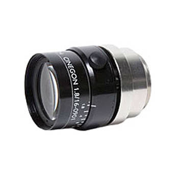 "Schneider 211001482 1"" 16mm f/1.8 C-Mount Cinegon Compact Fixed Focal Lens"