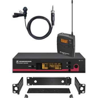 Sennheiser ew 112 G3 Wireless Bodypack Microphone System with GA 3 Rack Kit - G (566-608 MHz)