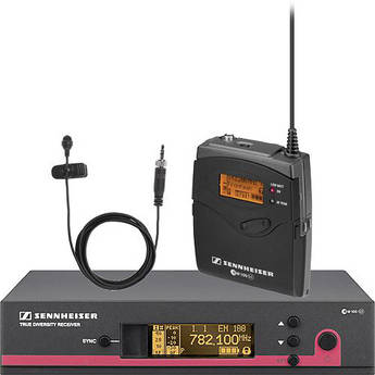 Sennheiser ew 112 G3 Wireless Bodypack Microphone System with ME 2 Lavalier Mic - G (566-608 MHz)