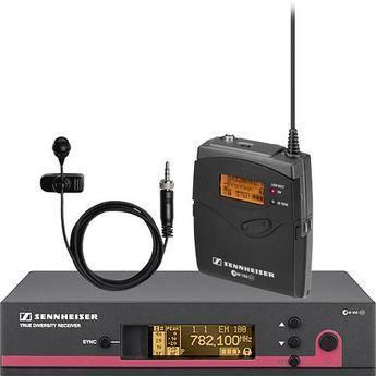 Sennheiser ew 114 G3 LE Wireless Bodypack Microphone System with ME 4 Lavalier Mic - B2 (626-662 MHz)