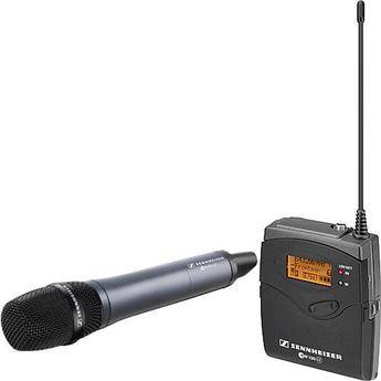 Sennheiser ew 135-p G3 Camera Mount Wireless Microphone System with 835 Handheld Mic - B (626-668 MHz)