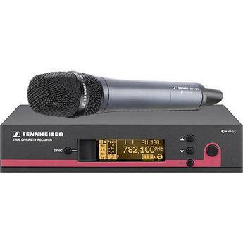 Sennheiser EW145 G3 Wireless Handheld Microphone System with E845 Mic (Frequency B / 626 - 668 MHz)