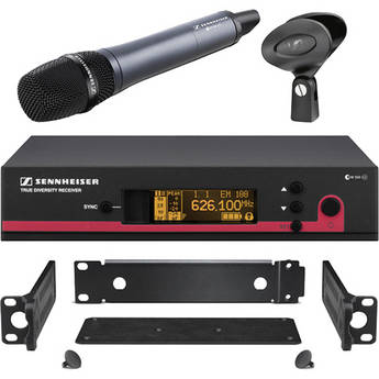 Sennheiser ew 135 G3 Wireless Handheld Microphone System with GA 3 Rack Kit - A (516-558 MHz)