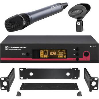 Sennheiser ew 135 G3 Wireless Handheld Microphone System with GA 3 Rack Kit - G (566-608 MHz)
