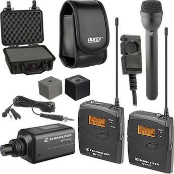 Sennheiser ew 100 ENG G3 Wireless Deluxe Kit - B (626-668 MHz)