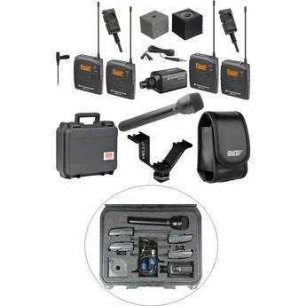 Sennheiser ew 100 ENG G3 Dual Wireless Deluxe Kit - B (626-668 MHz)