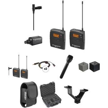 Sennheiser ew 100 ENG G3 Dual Wireless Deluxe Kit - G (566-608 MHz)