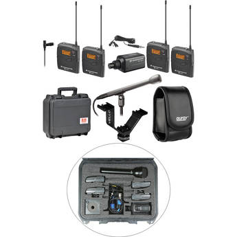 Sennheiser ew 100 ENG G3 Dual Wireless Basic Kit - B (626-668 MHz)
