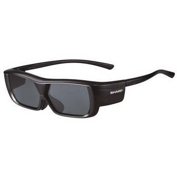 Sharp AN-3DG20-B Rechargeable 3D Glasses
