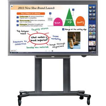 "Sharp PN-L802B-PKG2A 80"" AQUOS LED Interactive Display System w/ PC Bundle"