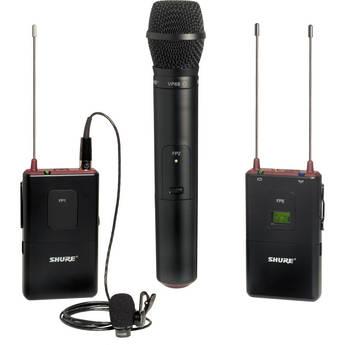Shure Shure FP Wireless Bodypack & Handheld Combo System (J3 / 572 - 596MHz)